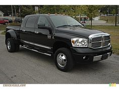 Dodge ram cummins heavy duty 3500 diesel mega cab. 2003 or newer. Ideal tow vehicle but pricey!