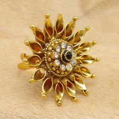 Ethnic Indian Gold plated #Ring  For Women