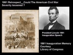 Memory of  the Lincoln Inaugaration 1861.  Monday, March 4, 1861