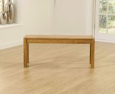 Buy the Oxford Solid Oak Bench at Oak Furniture Superstore