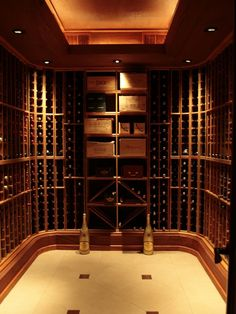 What TORLYS Smart Floor would you put in this wine cellar?