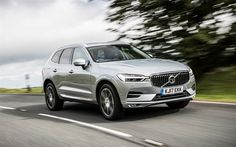 Download wallpapers Volvo XC60, 2017, Silver XC60, crossover, Swedish cars, Volvo