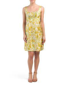 Made In USA Silk So Sincere Dress