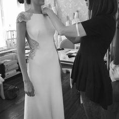 En Mis novias encontrarás una selección de fotos de trajes de novia hechos a medida en el atelier de Alicia Rueda en Bilbao. Trajes únicos y especiales con...