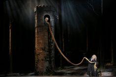 Into the Woods. Theatre de Chatelet. Set design by Alex Eales.