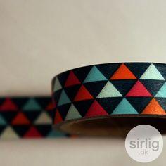 Masking tape, trekantmønster