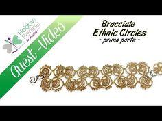 Bracciale Ethnic Circles   TUTORIAL - HobbyPerline.com