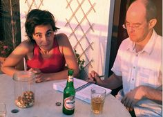Getting through the book, the beer and the nuts...Lebanon has the most amazing nuts!