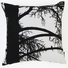 Kelohonka Black & White Cushion Cover