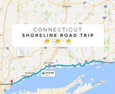 The Shoreline Road Trip In Connecticut That Takes You Through The Most Charming Coastal Towns