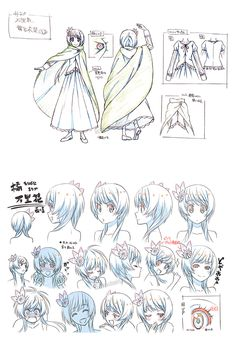 Costume Designs do seriado japonês Nisekoi | THECAB - The Concept Art Blog