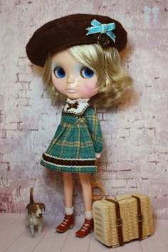 """My name is """"Holly"""" by little dolls room, via Flickr"""
