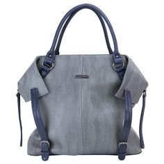 i can't believe i just pinned a diaper bag. {timi & leslie diaper bag - charlie gray & navy}