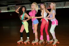Carrie Minter ~ Model/Actress: Here are photos from my 80s themed Roller Skating Birthday Party last weekend! I am def one lucky girl to have so many beautiful and amazing women in my life! Thank you to Sarah, Dom, all my girls!
