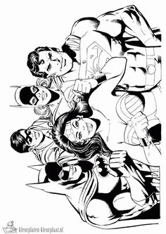 Marvel Avengers Coloring Pages Avengers Coloring Pages, Superhero Coloring Pages, Marvel Coloring, Free Adult Coloring Pages, Coloring Book Pages, Coloring For Kids, Comic Drawing, Comic Art, Comic Book