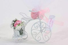 Bicycle, ornamented w/flowers