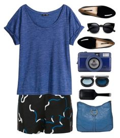 short set by tinkertot on Polyvore featuring polyvore fashion style H&M Diane Von Furstenberg Bueno FACE Stockholm GHD clothing