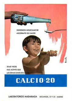 POCAS CAJAS DE CALCIO-20 NO ME TUVE QUE TOMAR...VAMOS QUE AL FINAL, LOS HUESOS LOS TENGO COMO EL ACERO COLAO, -ME RIO YO DEL LOBEZNO ESE-... ¡Y HABÍA A QUIENES LE GUSTABA! GRRRRR, A MÍ NO.