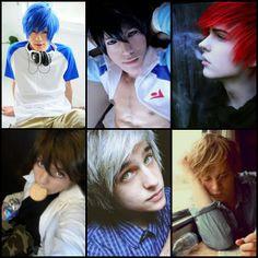 Primera imagen: Alexy Segunda imagen: Armin Tercera imagen: Castiel Cuarta imagen: Kentin Quinta imagen: Lysandro Sexta imagen: Nathaniel ---Chicos de Corazón de Melón---