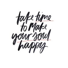 Do you know how to make your soul happy? Take moments to breathe and realize how lucky you are. Gratitude is the road to happiness... | To get your full of inspiration, click the image! | Red Fairy Project