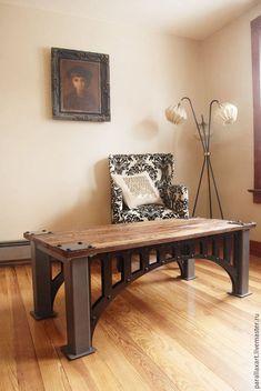 Купить Стол Мост - лофт, стол, Мебель, индастриал, подарок, мост, loft, лофт стол