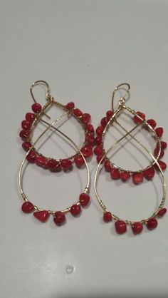 See all of my gemstone chip earrings at lgbstyles.etsy.com!