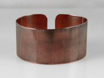 Canvas - copper bracelet