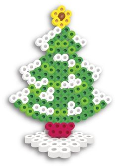 Perler Beads Fused Bead Kit - Christmas Tree