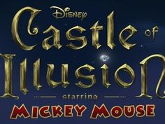 Castle Of Illusion Review http://www.novastreamgames.com.au/review---castle-of-illusion.html