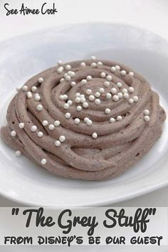 The Grey Stuff from Be Our Guest   21 Disney Parks Recipes You Can Make At Home