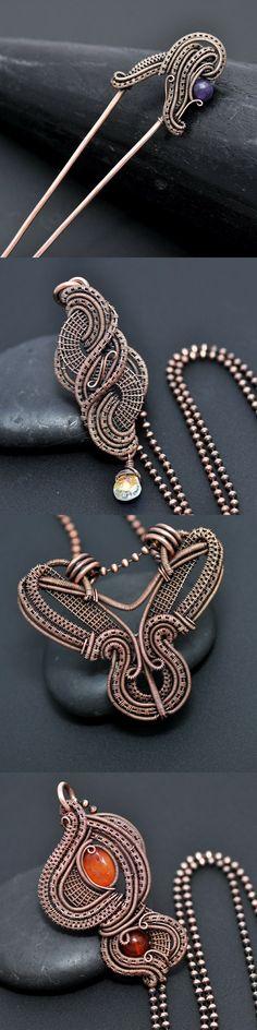 Learn to wire wrap at www.nicolehannajewelry.com