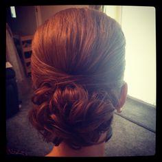 Bridesmaid hair up x