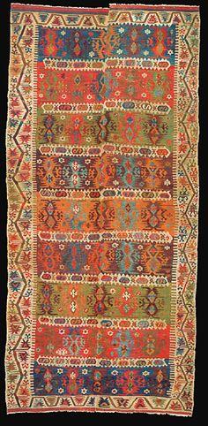 Old Anatolian kilim Asian Rugs, Persian Carpet, Persian Rug, Rustic Rugs, Patterned Carpet, Modern Carpet, Tribal Rug, Kilim Rugs, Handmade Rugs