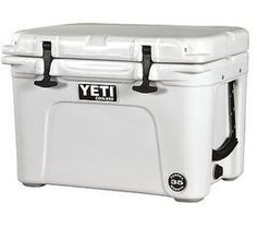 Yeti Tundra 35 Cooler. These things are amazing when it comes to keeping things cold. A favorite among employees and customers alike!