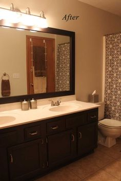 Bathroom Paint Colors With Light Cabinets