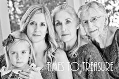 4 generations of women Times to Treasure Photography - Home