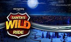 Игровой автомат Santa's Wild Ride на деньги с выводом  Игровой автомат Santa's Wild Ride посвящен приключениям Санты-байкера. Вы будете выводить деньги на QIWI, составляя комбинации на 5 барабанах и 243 линиях. В аппарате есть фриспины с тремя видами диких знаков. Santa