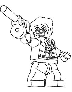 Harley Quinn Lego Coloring Pages Coloring Pages