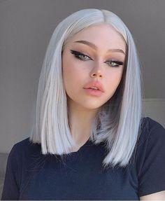 Cute Makeup Looks, Pretty Makeup, Edgy Makeup, Hair Makeup, Grunge Makeup, Grunge Hair, Alternative Makeup, Aesthetic Hair, Aesthetic Grunge