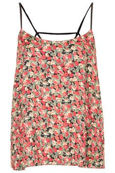 Ditsy Floral Strappy Suntop