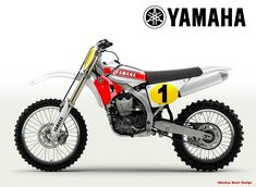 Oberdan Bezzi, an Italian designer is proposing to have enduro bikes with up-to-date frames , engine , suspensions . but with the classic look of. Yamaha Motocross, Motorcross Bike, Dt Yamaha, Motos Yamaha, Yamaha Motorcycles, Custom Motorcycles, Custom Bikes, New Dirt Bikes, Mx Bikes