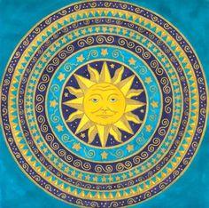 Father Sun Mandala by ~Jewelfly on deviantART
