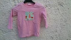 KajDom / Ružové tričko s myškami Graphic Sweatshirt, Sweatshirts, Sweaters, Handmade, Fashion, Moda, Hand Made, Fashion Styles, Trainers