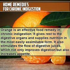 Home Remedies for Chronic Indigestion.