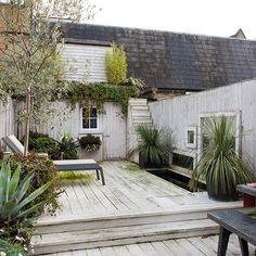 'I wanted the garden to be really easy to maintain,' says the owner. Take a tour around this small artisan cottage in London.