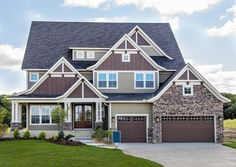 Plan 73327HS - Distinctive Craftsman Dream Home Plan - 6 BED, 5 BATH - This is my favorite Modern/Craftsman Style house so far.