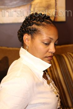 Twisted Cornrows - 1 of 3