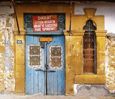 Nicosia / Lefkosia (North Cyprus) - Arabahmet House Entrance