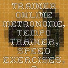 Drum trainer online - Metronome, Tempo trainer, Speed exercises, 20-300 BPM - Best Drum Trainer .com