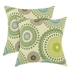 I pinned this Radius Pillow in Kiwi (Set of 2) from the Global Inspiration event at Joss and Main!